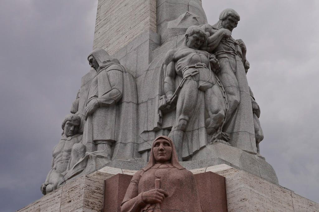 Das Freiheitsdenkmal in Riga, Lettland
