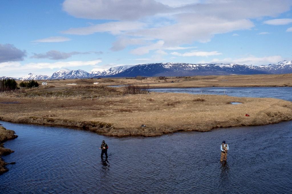 Island, Landschaft um den Thingvellier