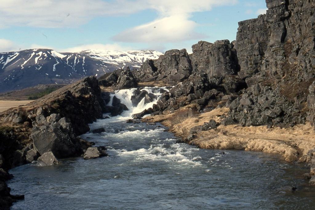 Island, grabenbruch zwischen Eurasien und Amerika