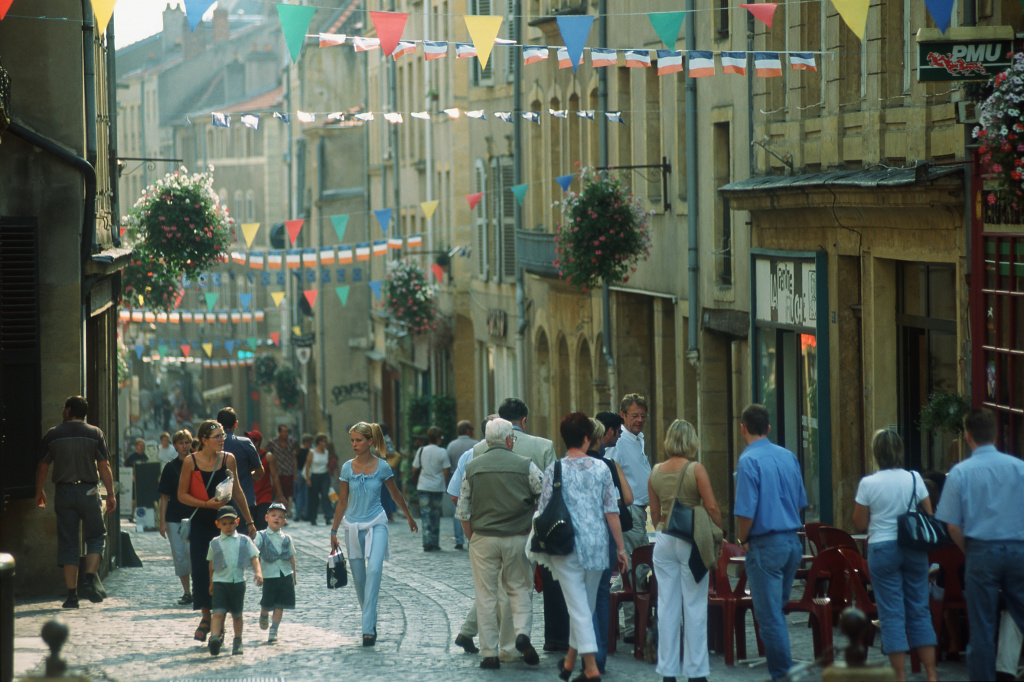 Shopping in Metz
