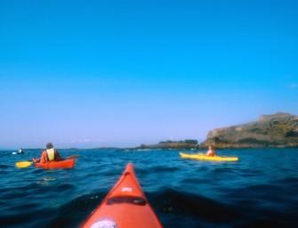 Südirland – Seefahrt mit Kajak