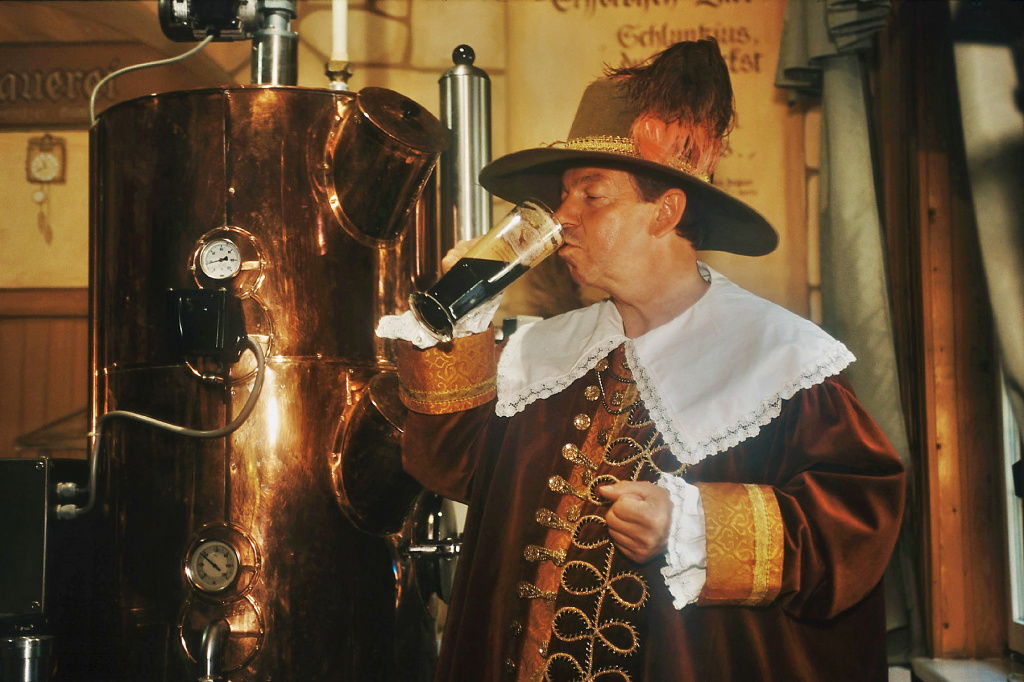 Erfurter Bier, Bierausrufer