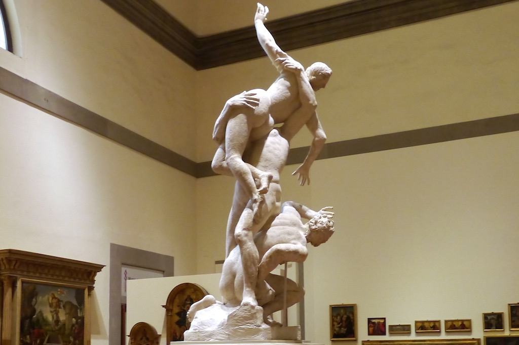 Florenz, Giambologna: Raub der Sabinerin_001