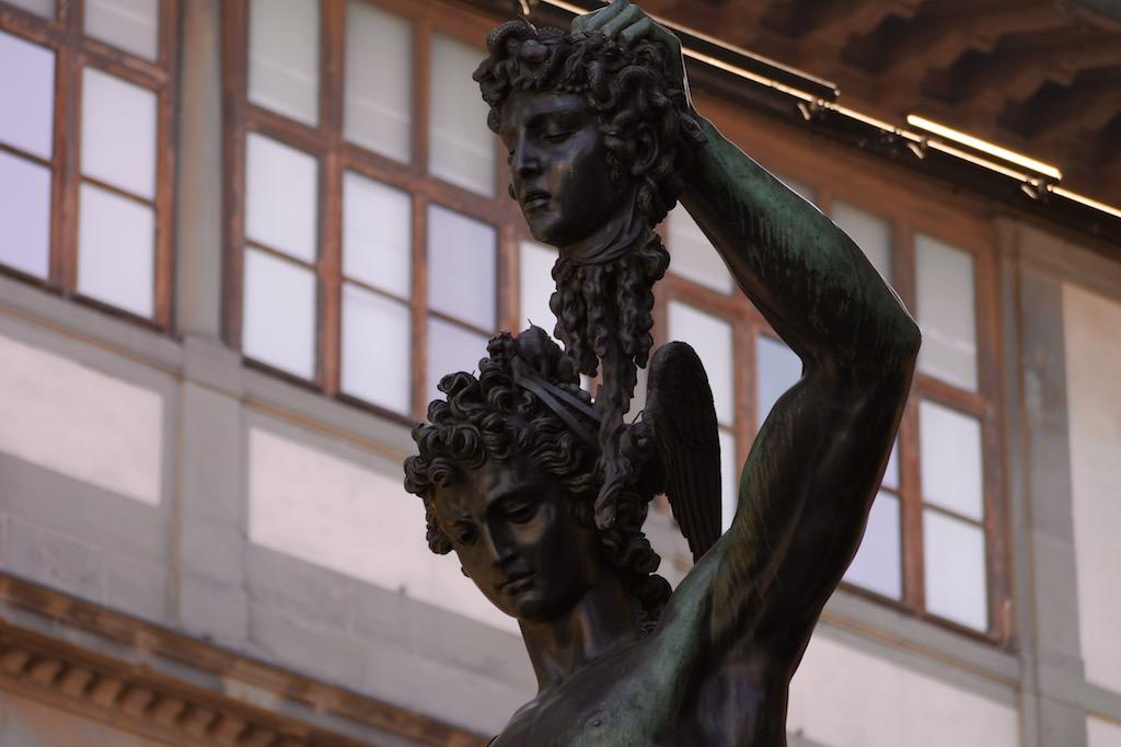 Perseus Statue von Benvenuto Cellini in Florenz
