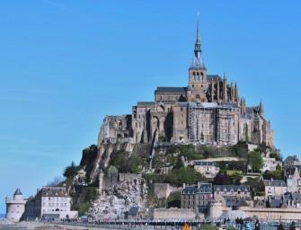 Mont Saint-Michel: Klosterberg im Watt