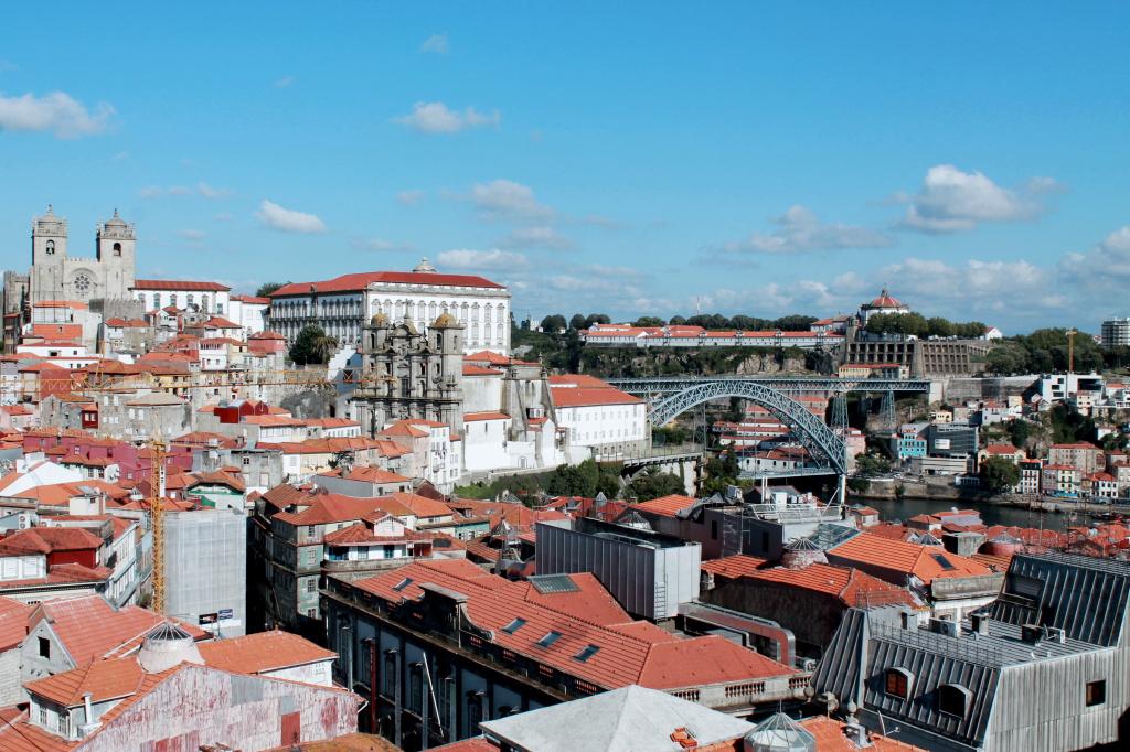 Porto, Blick über die Altstadt