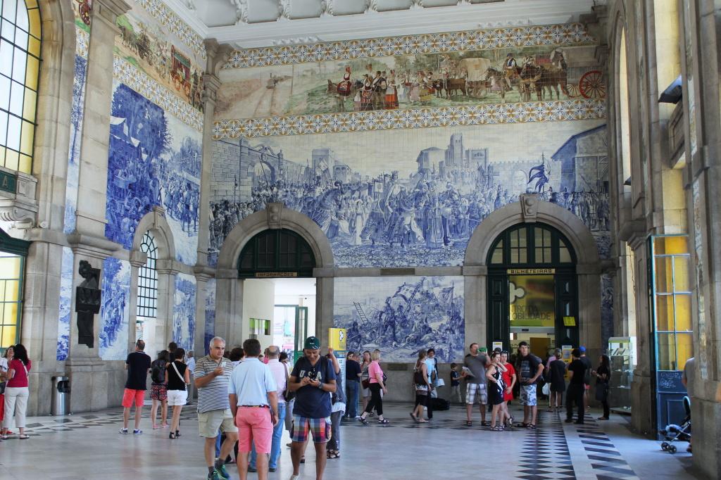 Porto, Bahnhof São Bento
