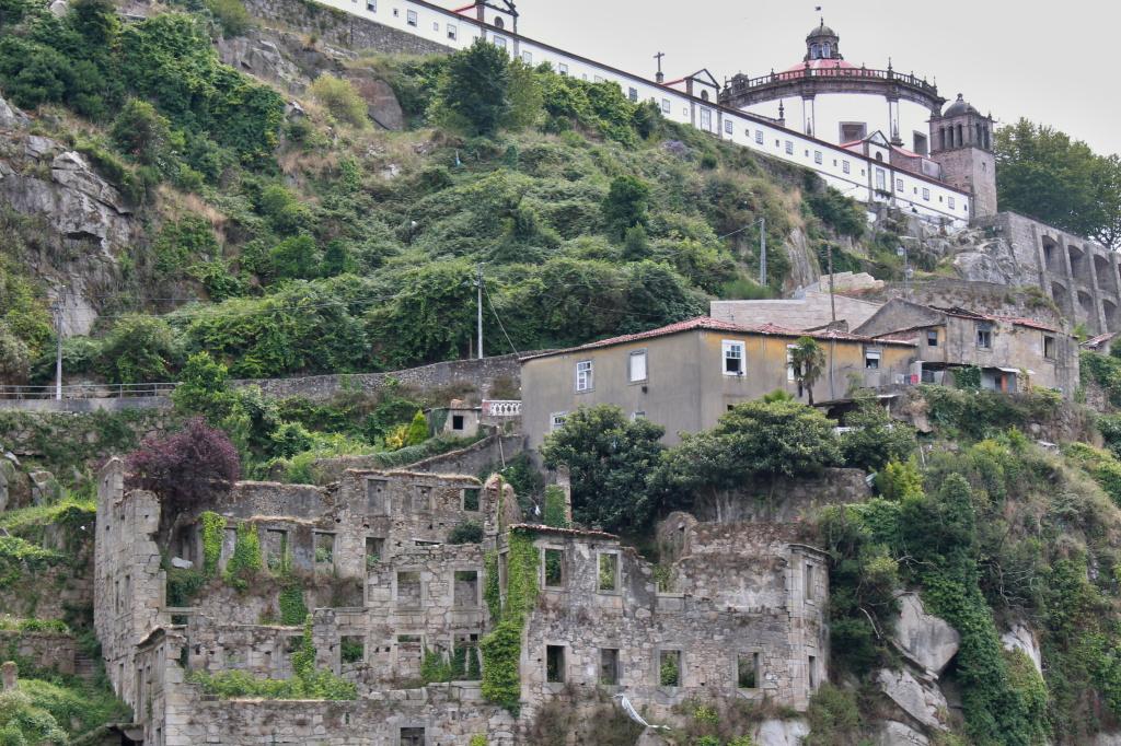 Porto, Detailansicht vom Fluss aus