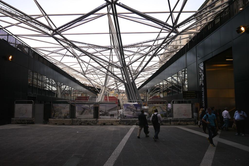 Haltestelle Garibaldi der Metro Neapel