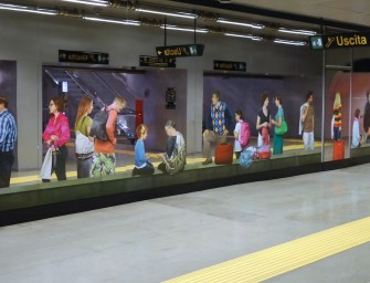 Metro Art in Neapel