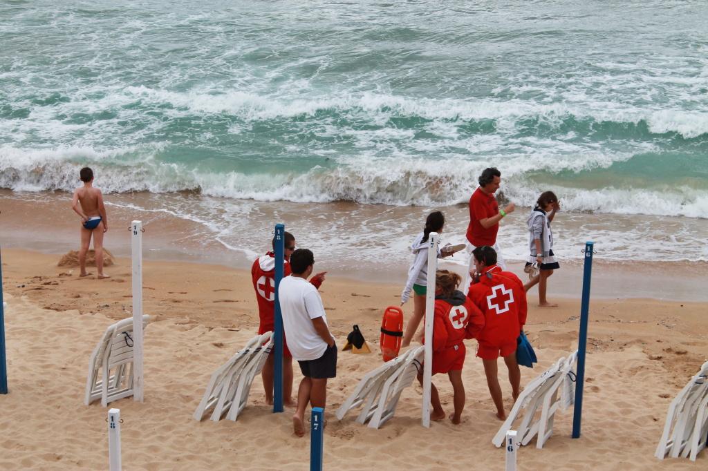 "San Sebastian, Strand in der Bucht ""La Concha"""