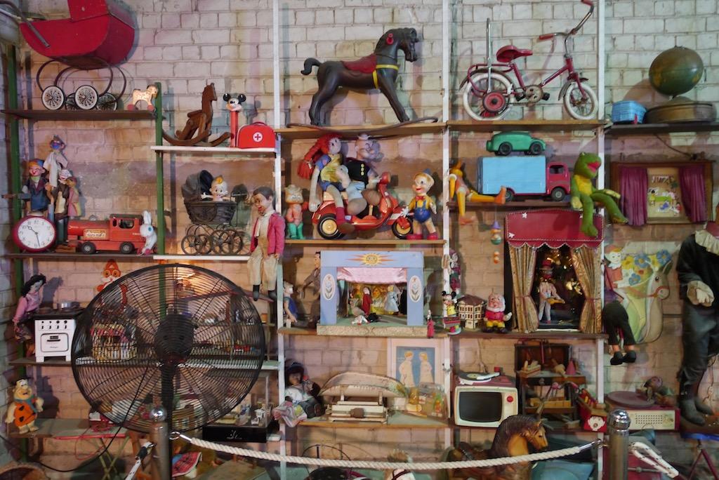 Spielzeug Museum im Hafen von Jaffa