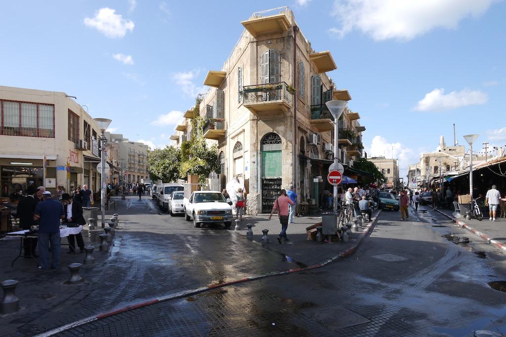 Rund um den Flohmarkt von Jaffa