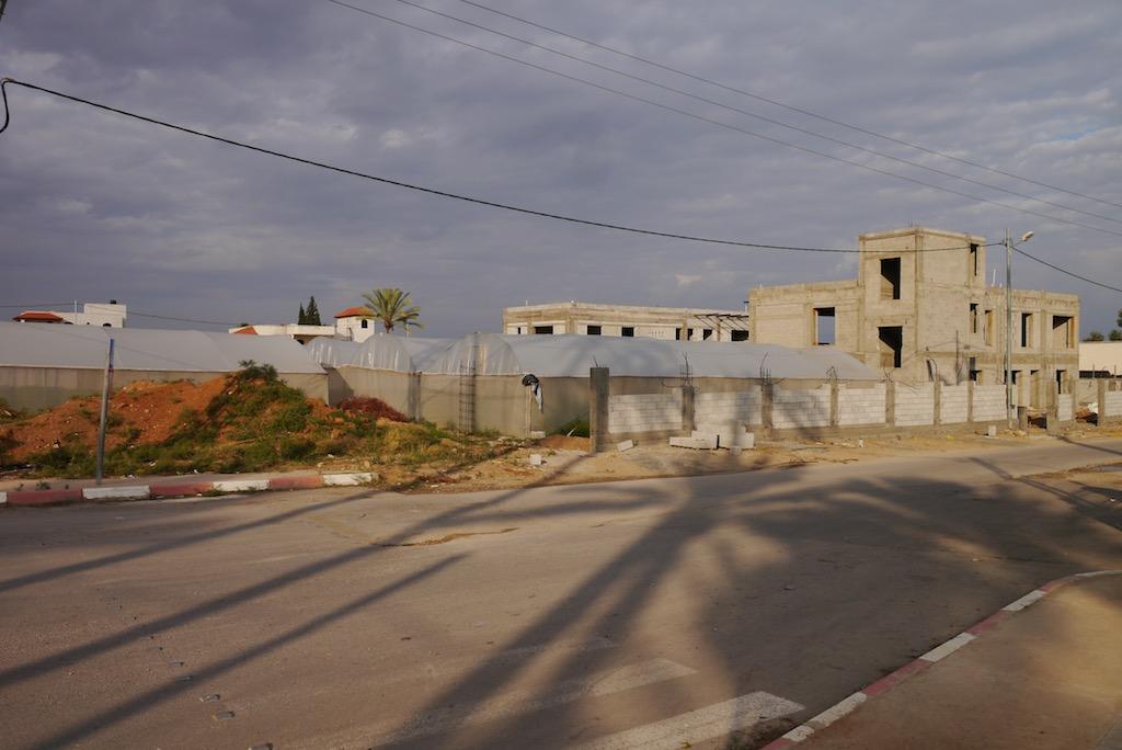 Straße, die von Jericho zu Hischams Palast führt.
