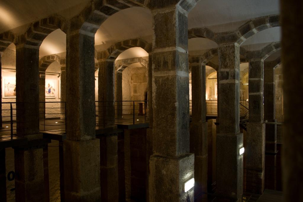 Wasserspeiche des Aquädukts von Lissabon