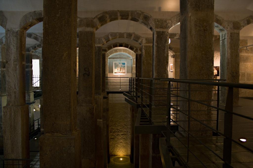 Zisterne der Wasserversorgung von Lissabon.