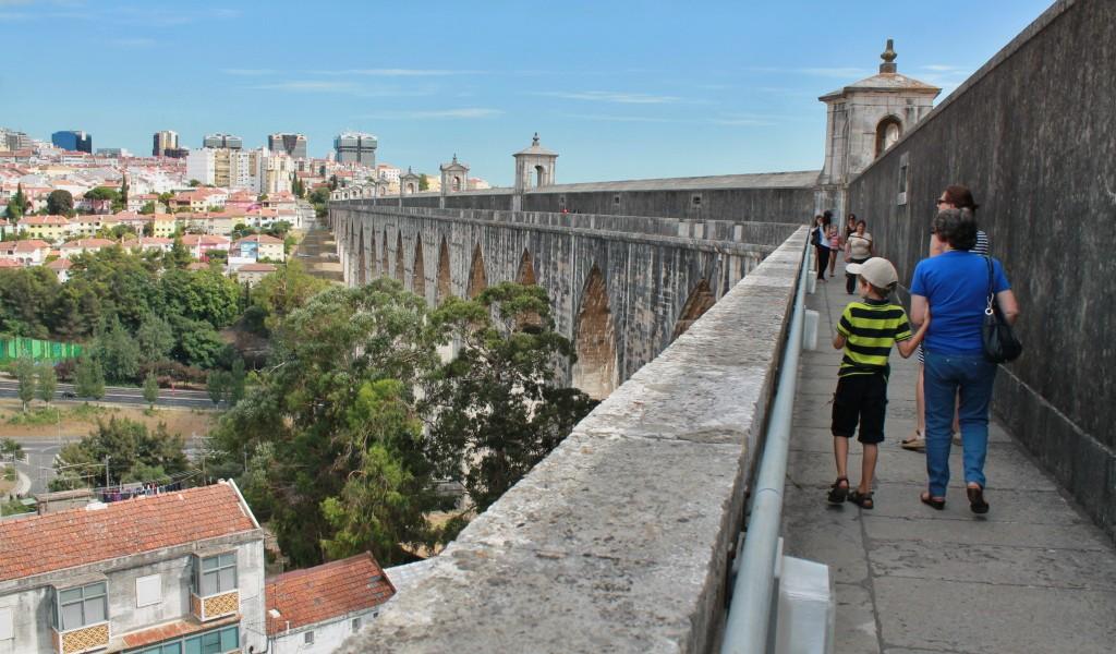 Das Wasser von Lissabon