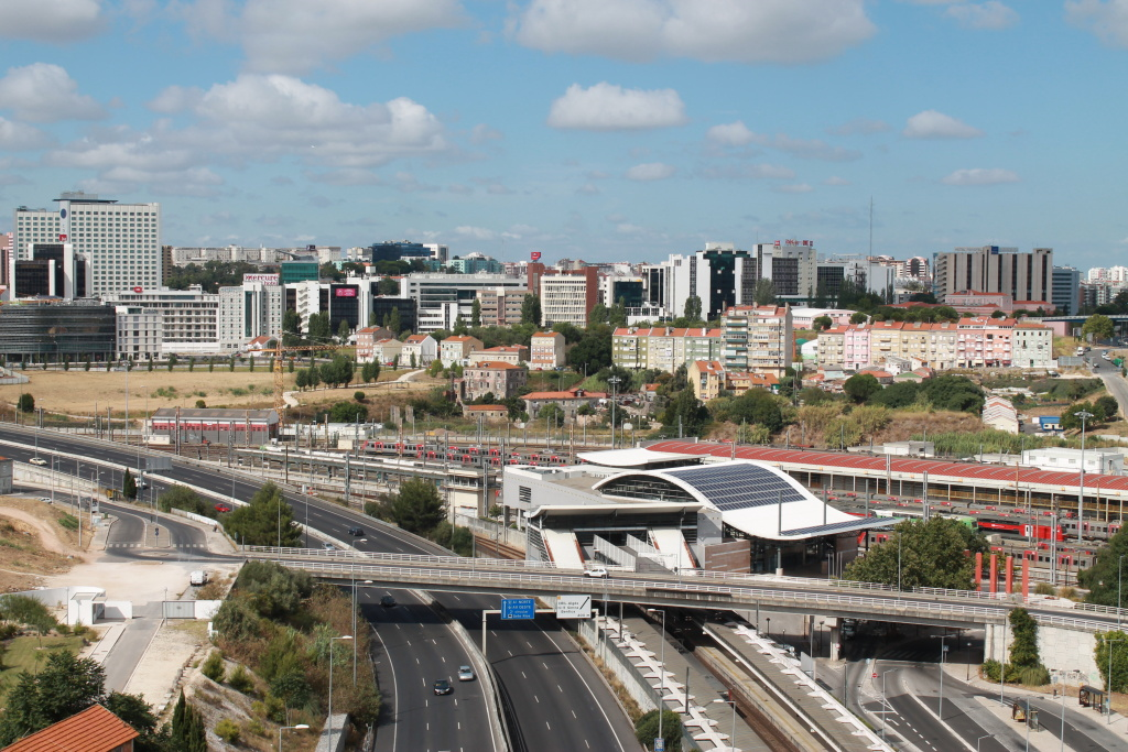 Ausblick auf Lissabon.