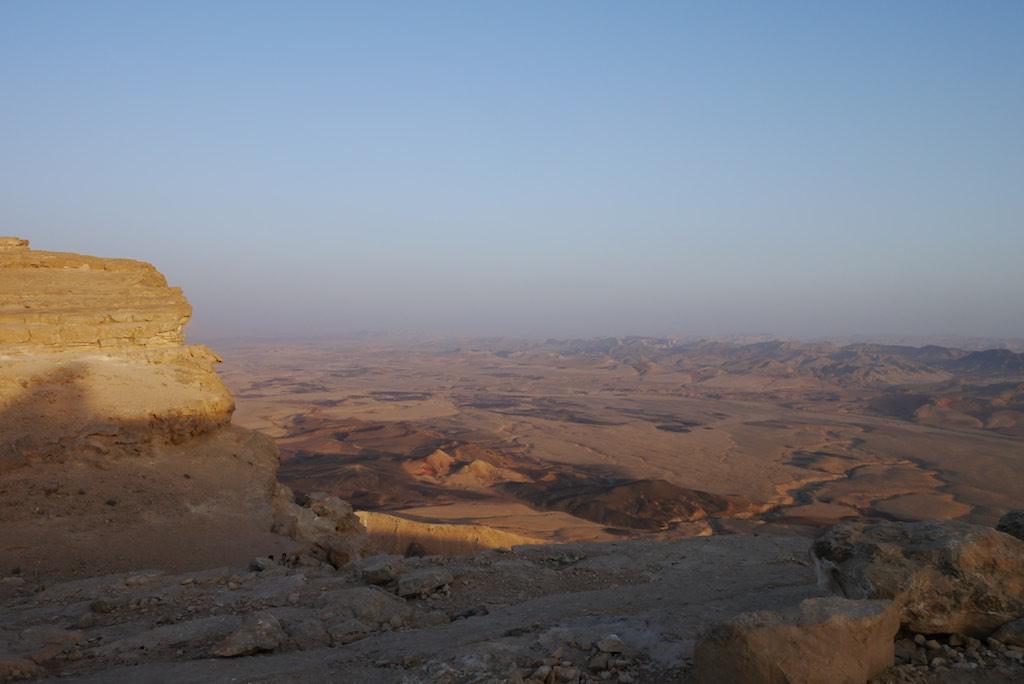 Abendstimmung in der Negev Wüste