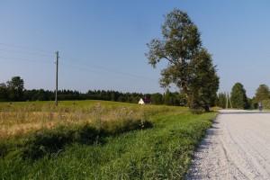 Landschaft im Norden Lettlands