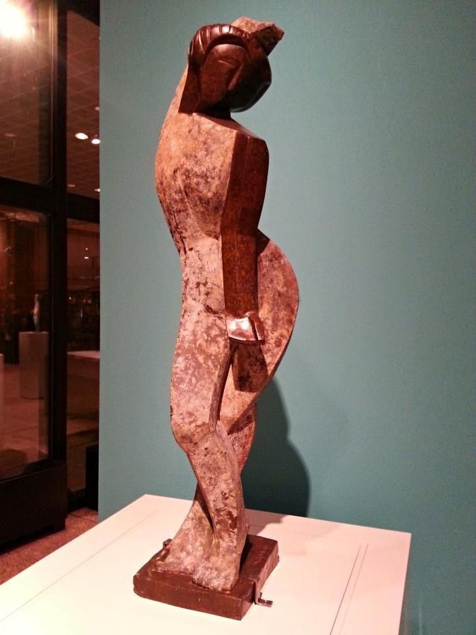 Tänzerin, Skulptur von Marg Moll.