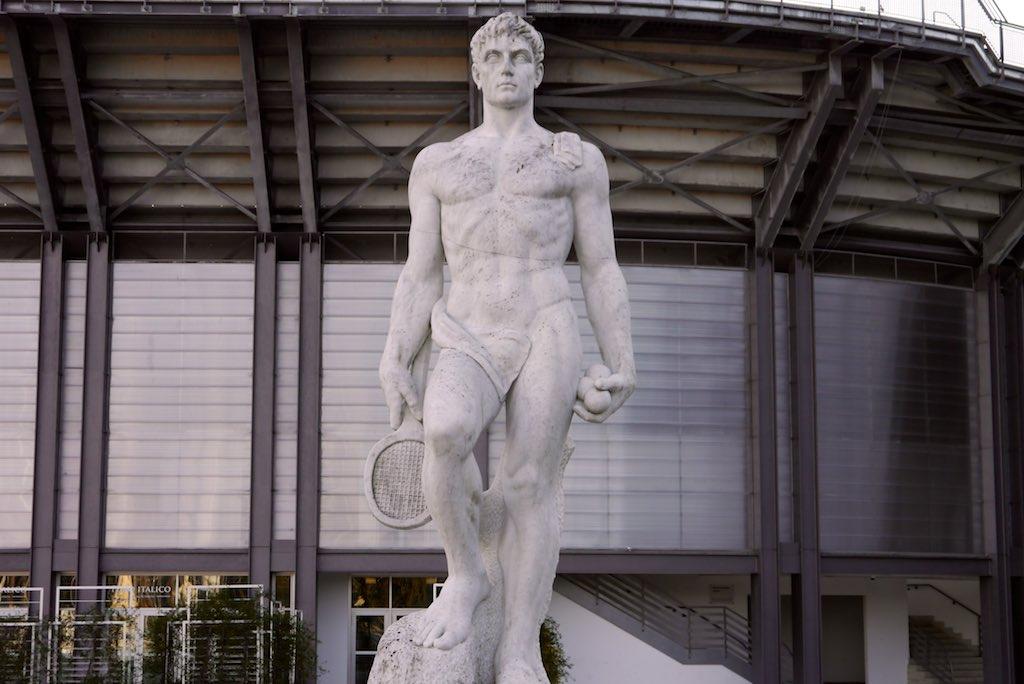 Rom Foro Italico Tennisspieler