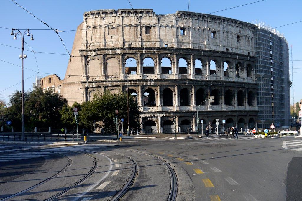 Kolosseum in Rom von Außen