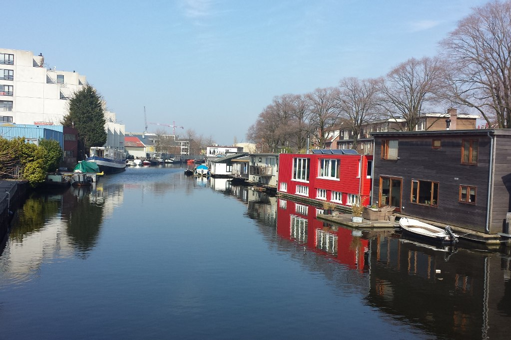 Amsterdam_Noord_Hausboote