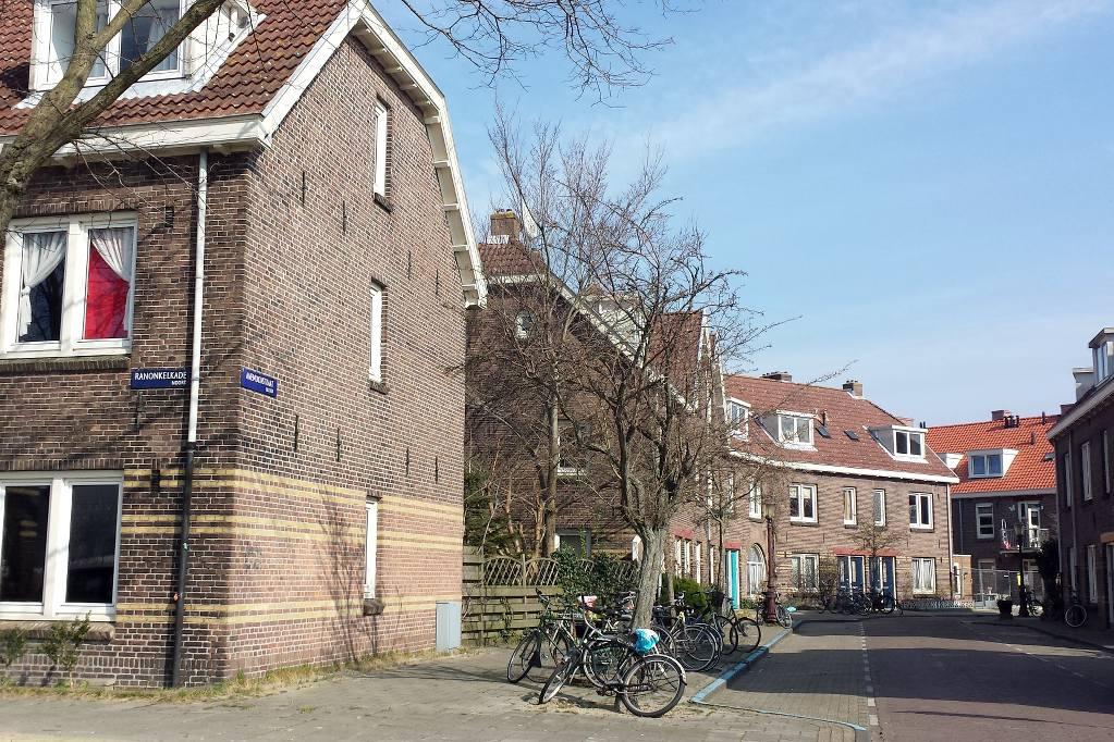 Amsterdam_Noord_Straßenansicht
