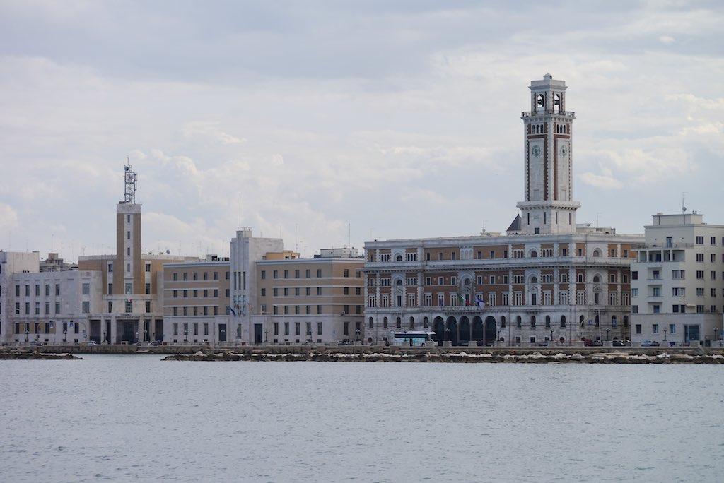 Die Uferpromenade von Bari