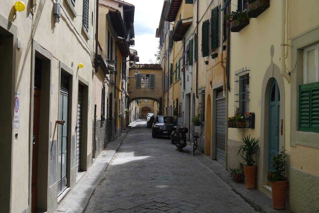Ein malerisches Strässchen in Florenz Oltrarno