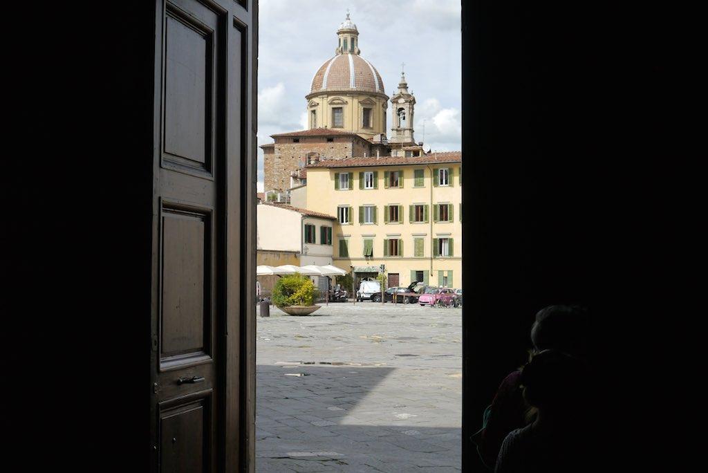 Piazza del Carmine in Florenz Oltrano