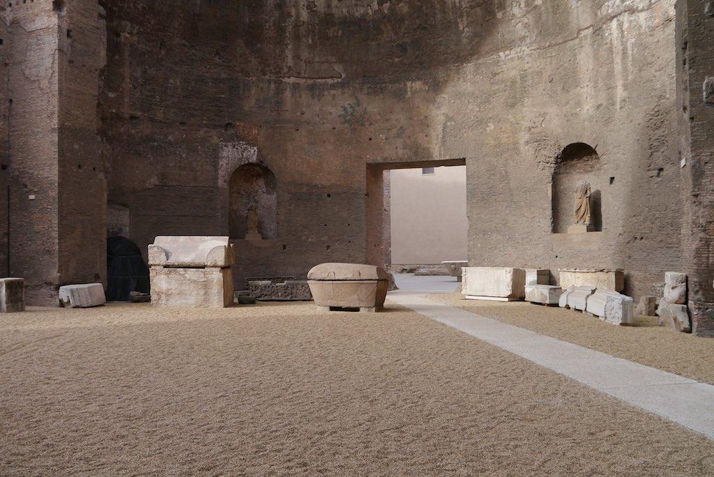 Diokletians Thermen: Austtelungsraum im Museo Nazionale Romano