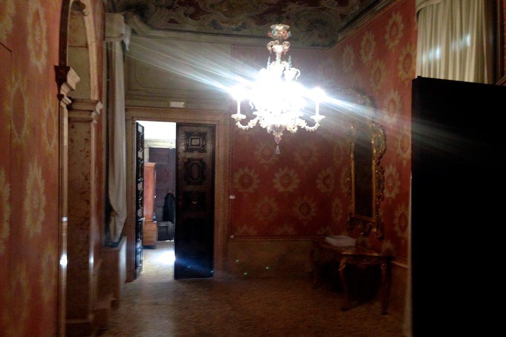 Durchgangszimmer im Palazzo Barbaro