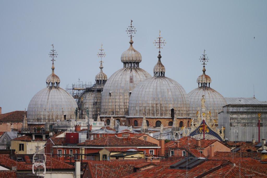 Venedig, Kuppeln der Markus Kirche