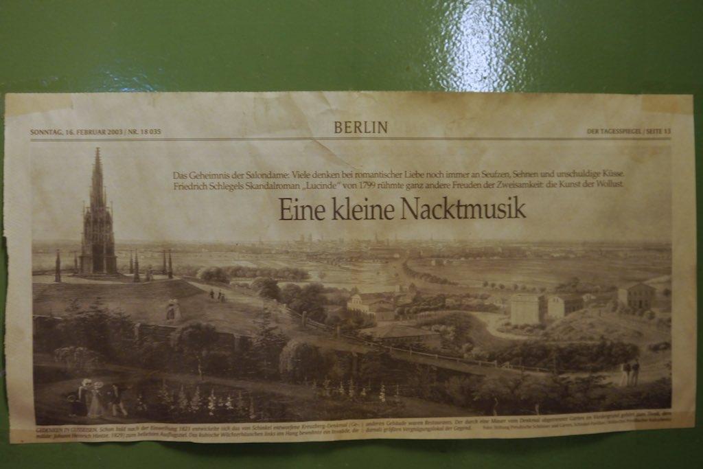 Gemälde des Kreuzberg Denkmals