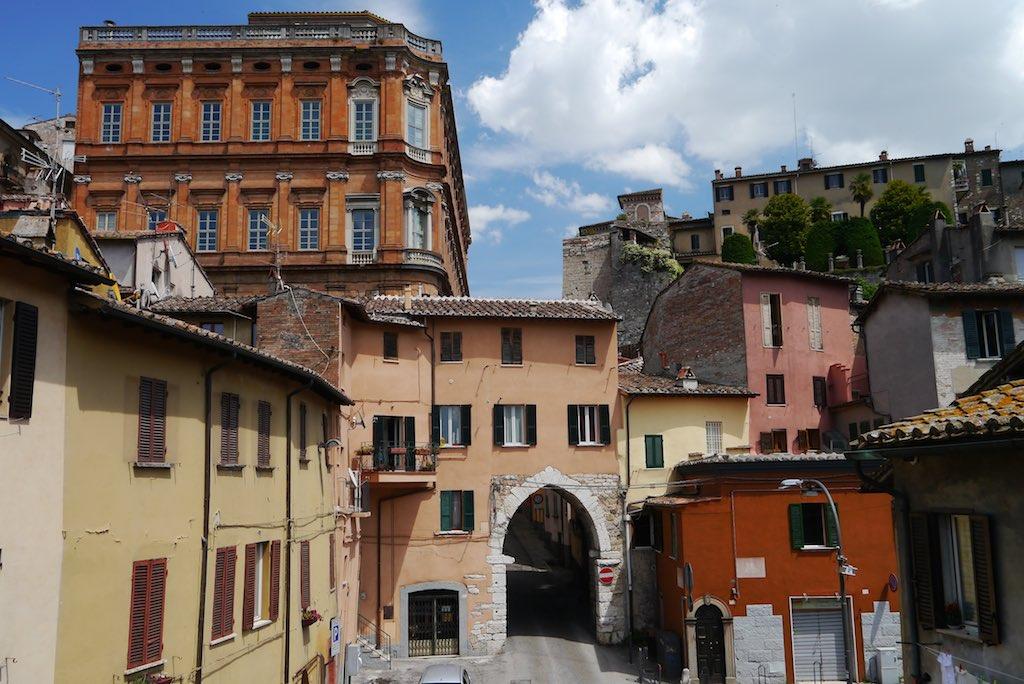 Blick auf die Altstadt von Perugia