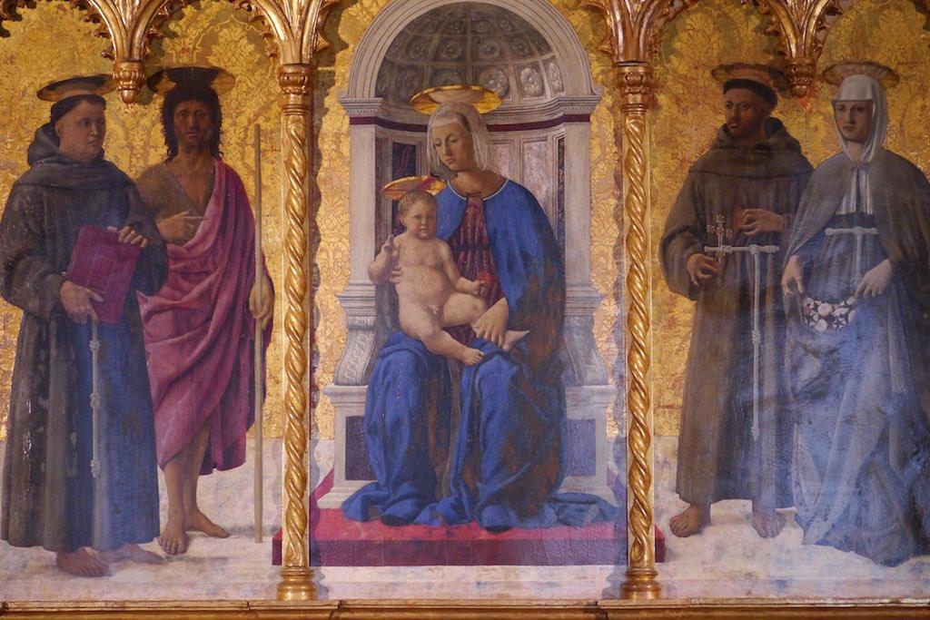 Piero della Francesca, Polyptychon von S.Antonio in Perugia.