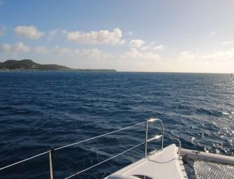 Mitsegeln auf karibisch. Für Anfänger