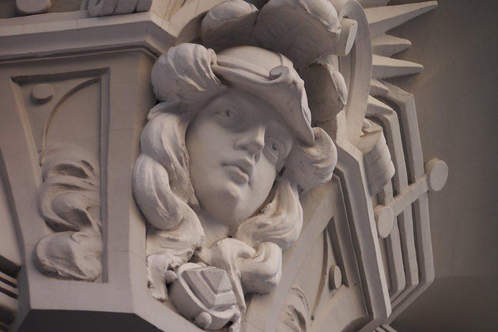 Jugenstil Ornament in Riga.