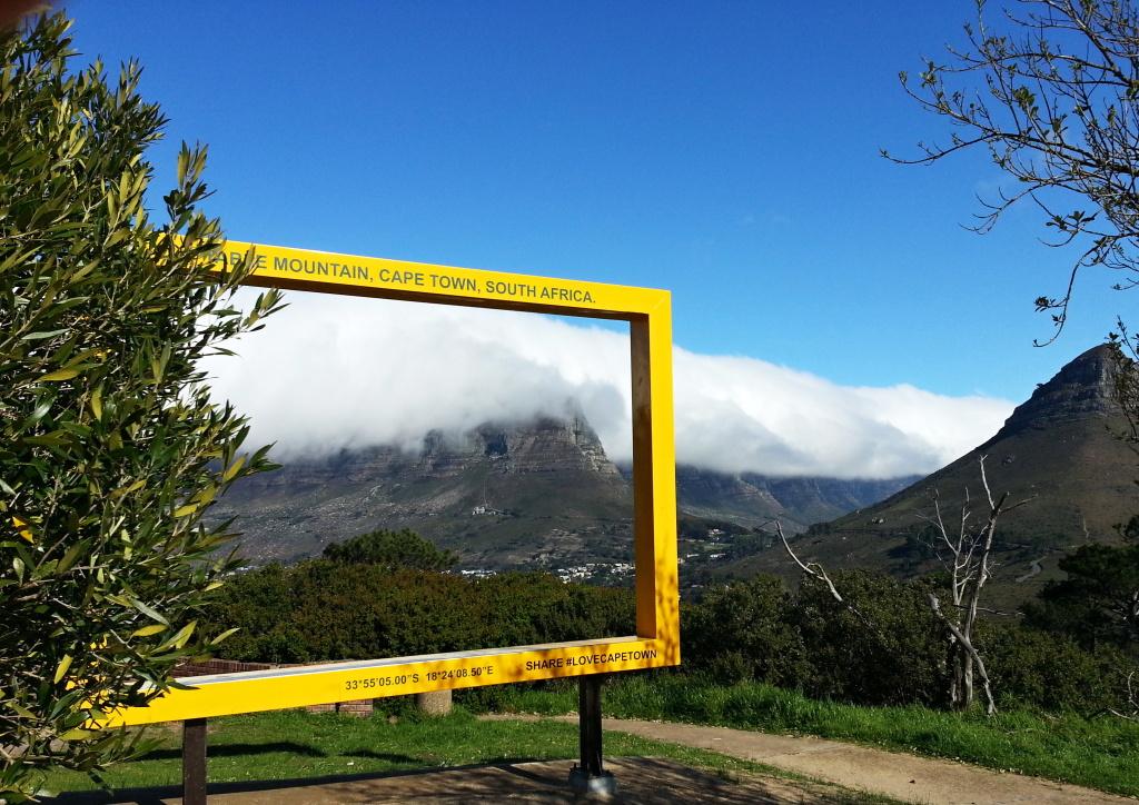 Der Tafelberg als Tourimusmagnet.
