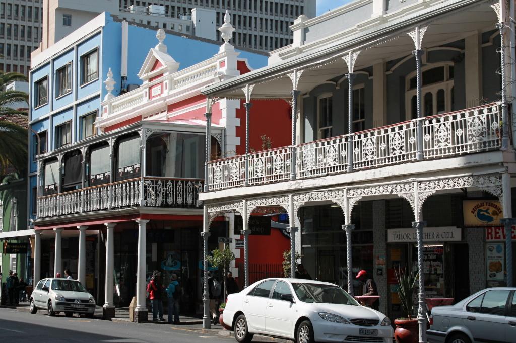 Viktorianische Architektur in Kapstadt.