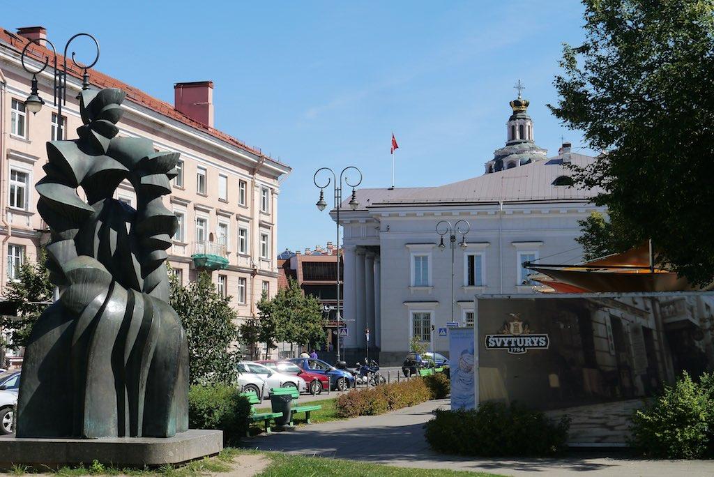 Die Vokiečiu Gatvé, die ehemalige Deutsche Straße. Experimentierfeld der sozialistischen Stadterneuerung in Vilnius