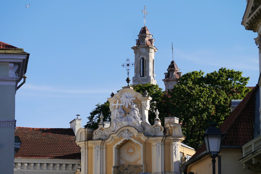 Das Tor des Basilius Kloster in Vilnius