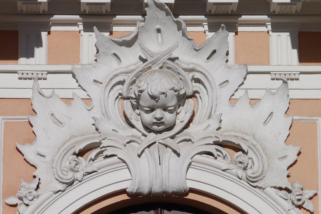 Putto von der Kirche des heiligen Kasimir in Vilnius