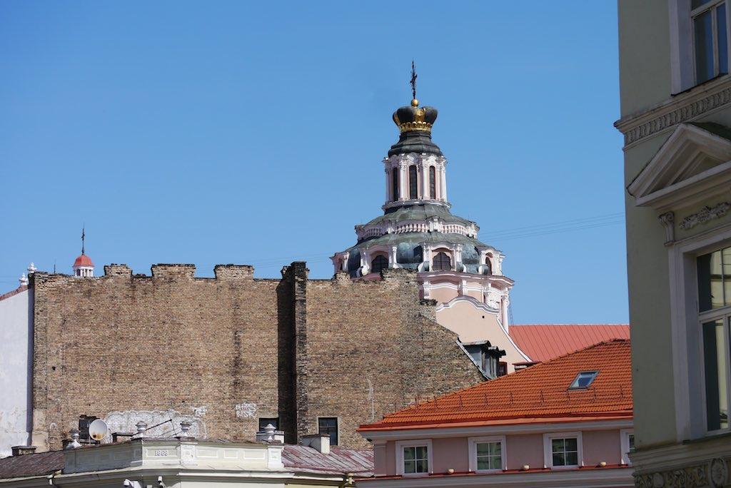 Kuppel der Kasimir Kirche in Vilnius