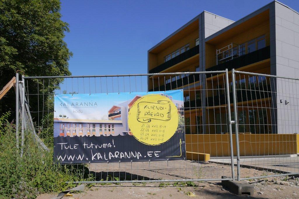 Neubau im Kalamaja-Viertel von Tallinn