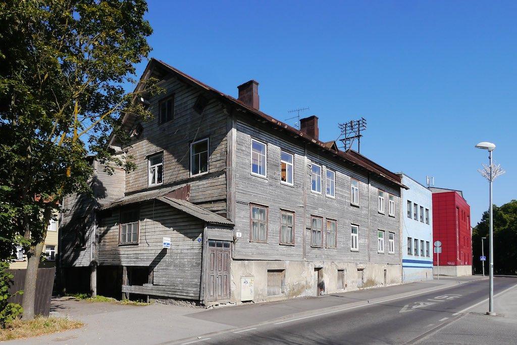 Holzhaus im Kalamaja-Viertel von Tallinn