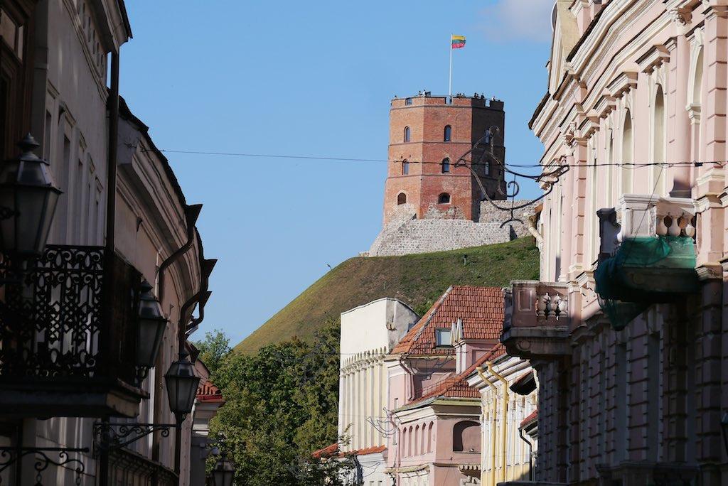 Turm der Burg des Großfürsten Gediminas