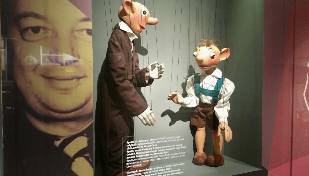 1. Advent: Spejbl und Hurvínek